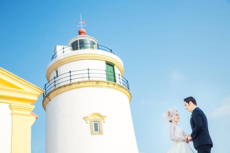 城区外景丨灯塔