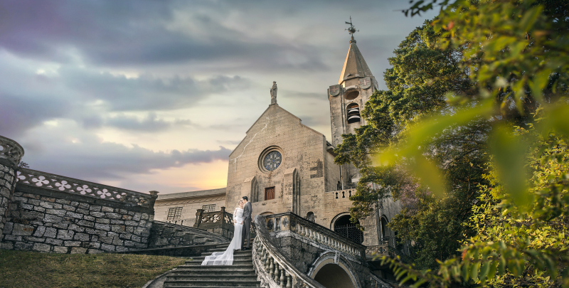 澳门城区教堂
