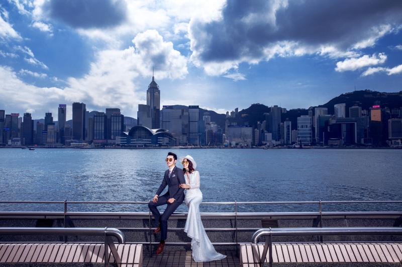 香港丨维港、中楼