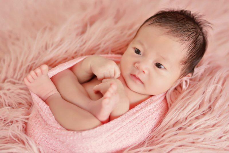 新生儿满月照