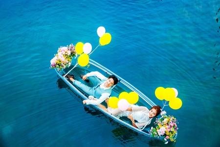 5999【镇店之宝】大连婚纱摄影,住宿+包邮+底片全送