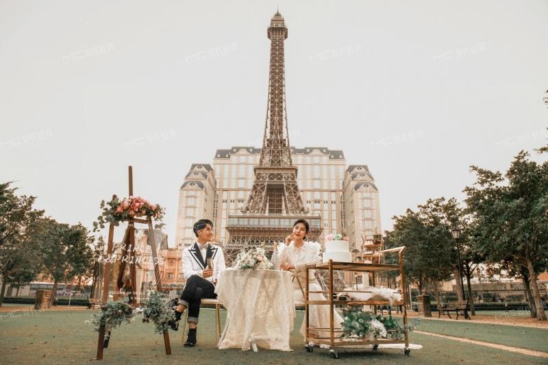澳門城區日景巴黎人